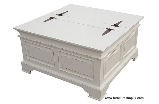 Cpw Kristina White Painted Trunk Coffee Table Designer Furniture Blog