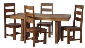 stunning indian oak dining table and chair sets the baumhaus aston oak dining set