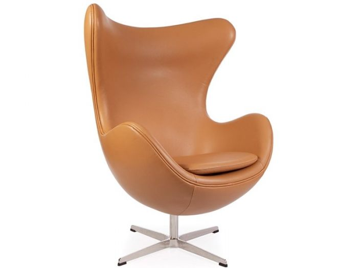 egg designs furniture. Arne Jacobsen Egg Chair In Tan Leather Designs Furniture R