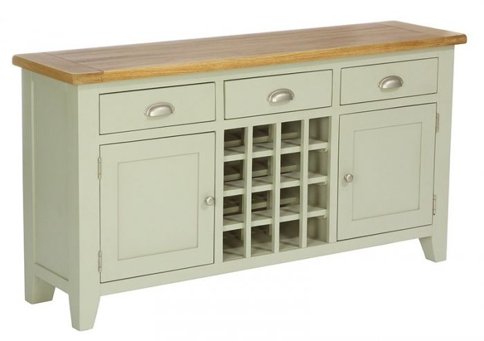 Vancouver Expressions French Grey Wine Rack Sideboard Designer