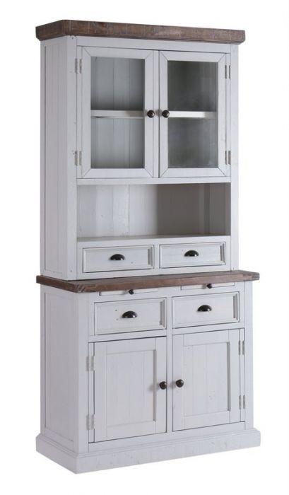 Grey Painted Shabby Chic Dresser