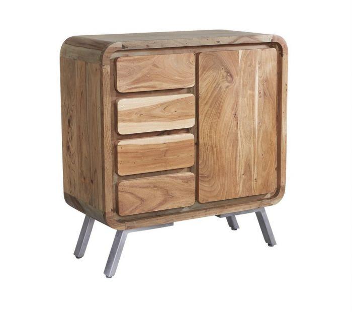 Indian Hub Aspen Medium Sideboard Sheesham Wood Furniture