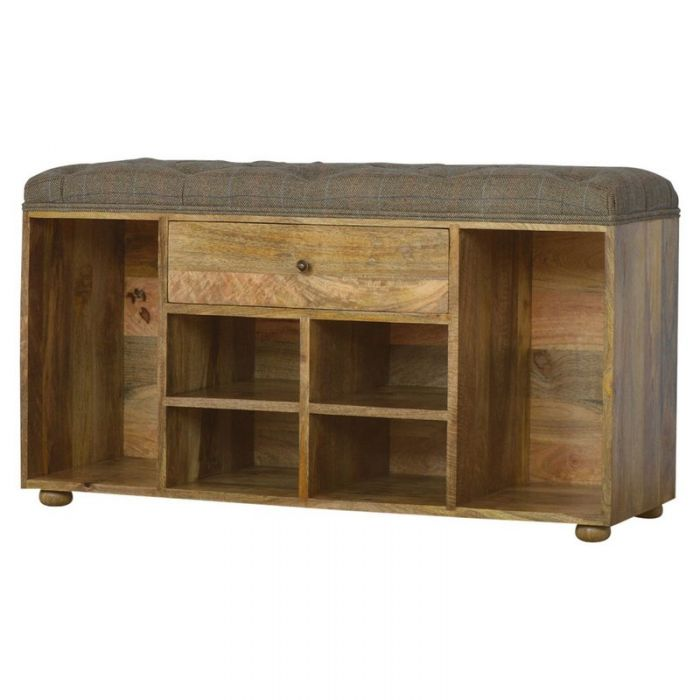 Mango Solid Wood Shoe Cabinet
