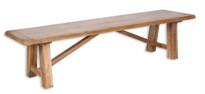 Fine Odisha Mango Wood 200Cm Dining Bench Gmtry Best Dining Table And Chair Ideas Images Gmtryco