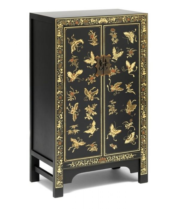 Buy Chinese Furniture The Nine Schools Oriental Decorated Black