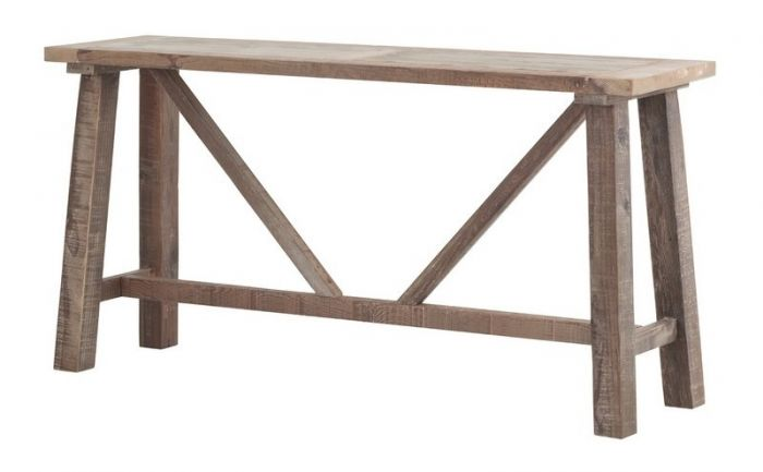 info for f0c7e 9061c Cal Stadium Reclaimed Wood Console Table