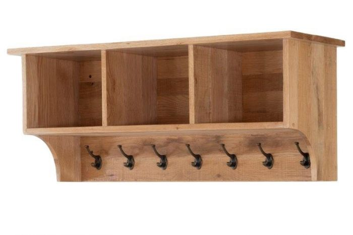Vancouver Oak Sawn Coat Rack With Shelves Designer Furniture Ltd Custom Coat Rack Vancouver