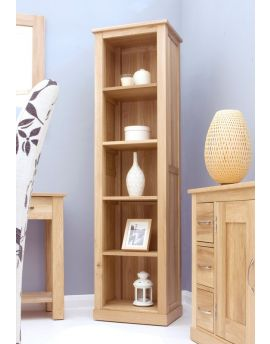 mobel oak slim bookcase mobel oak slim bookcase