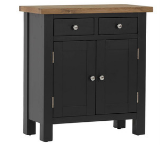 Vancouver Compact Painted Black Grey Furniture